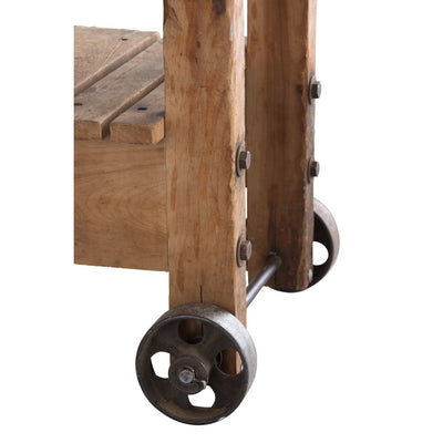 American Industrial Cart, Early 20th century-Eleish Van Breems Home