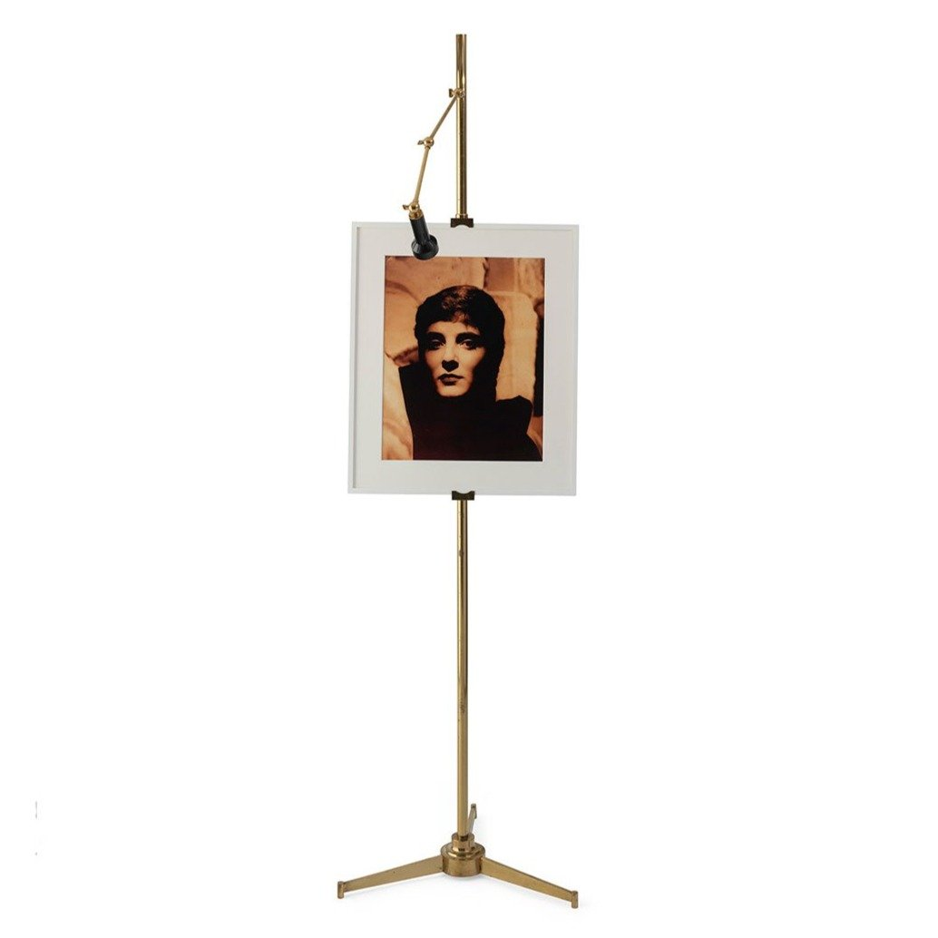 Arredoluce Brass, Adjustable Easel Lamp