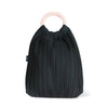 Black Wool Tote Bag