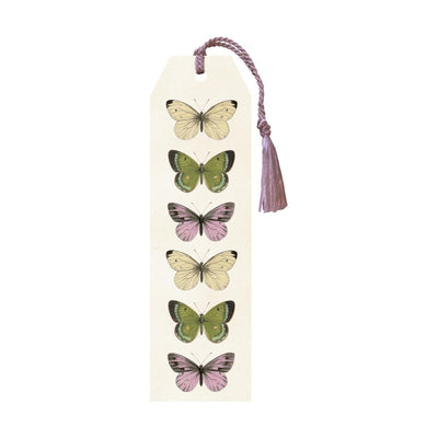 Bookmark with tassel-Butterflies-Eleish Van Breems Home