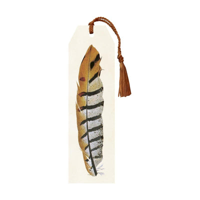 Bookmark with tassel Feather Eleish Van Breems Home