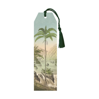 Bookmark with tassel-Palm Tree-Eleish Van Breems Home