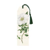 Bookmark with tassel White Flower Eleish Van Breems Home