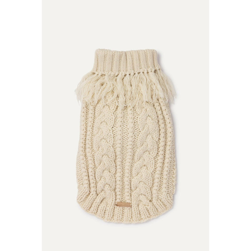 Brunella Dog Jumper in Ivory