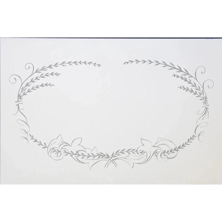 Calligraphy Frame Place Mat Pad Eleish Van Breems Home