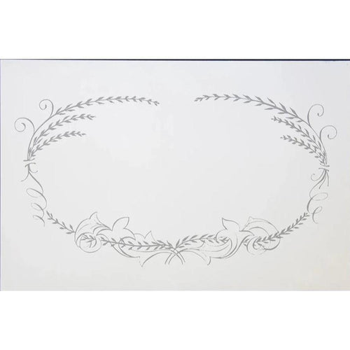 Calligraphy Frame Place Mat Pad