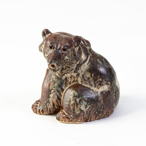 Ceramic Sitting Bear
