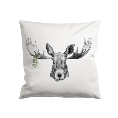 "Charlotte Nicolin Pillow 18 x 18"" The Forest Prince Eleish Van Breems Home"