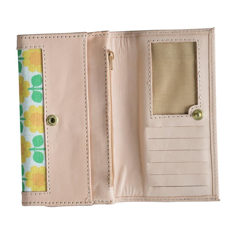 Cloudberry Leather Wallet Eleish Van Breems Home