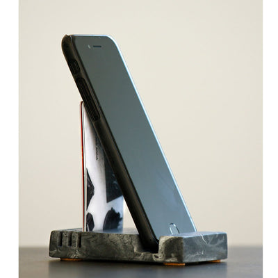 Concrete iPhone Support Stand Eleish Van Breems Home