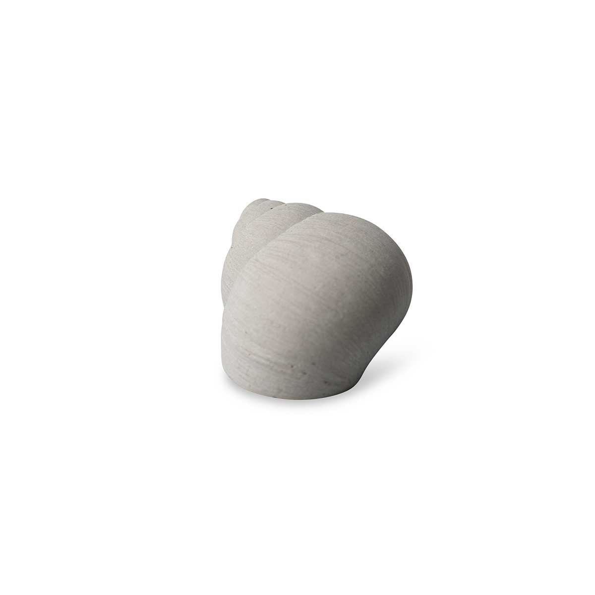 Concrete Snail Shell Decoration Nature Grey Eleish Van Breems Home