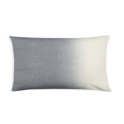 Dip-Dyed Alpaca Rectangular Pillow Light Grey Eleish Van Breems Home