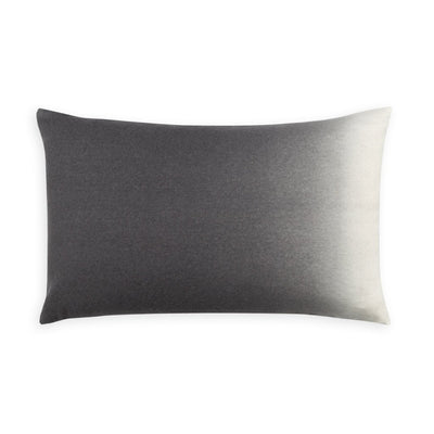 Dip-Dyed Alpaca Rectangular Pillow Pewter Eleish Van Breems Home