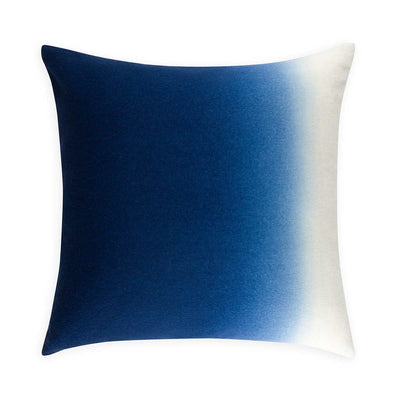 Dip-Dyed Pillow Square-Indigo-Eleish Van Breems Home