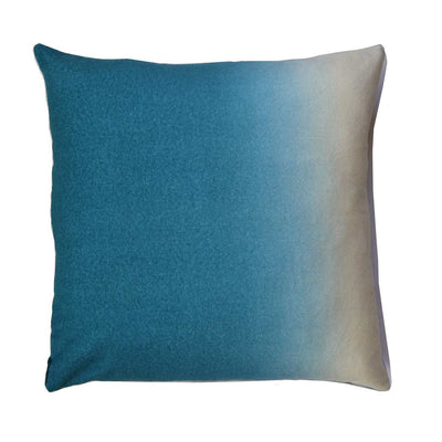 Dip-Dyed Pillow Square-Peacock-Eleish Van Breems Home