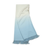 Dip-Dyed Alpaca Throw Sky Eleish Van Breems Home