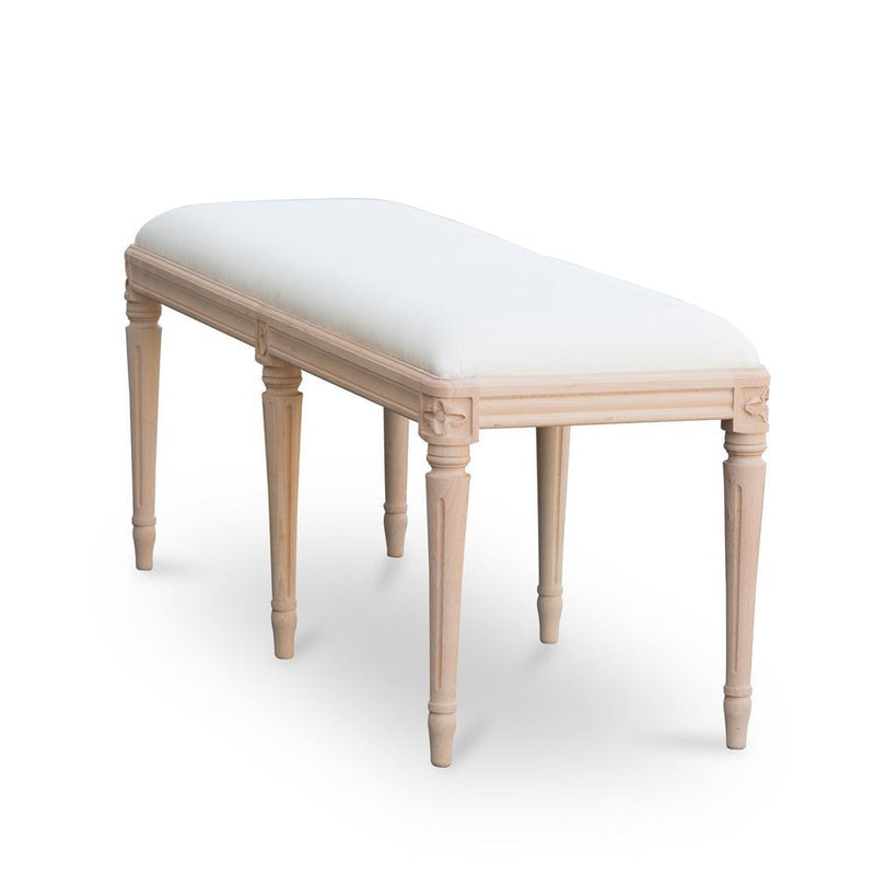 Drottningholm Bench Long-Natural-Eleish Van Breems Home