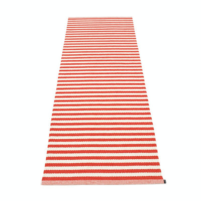 Duo Runner - 2 3/4' X 5 1/4' Coral Red Eleish Van Breems Home