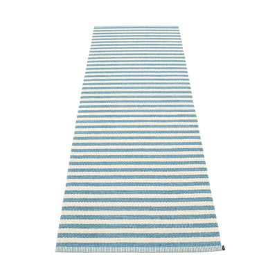 Duo Runner - 2 3/4' X 5 1/4' Misty Blue/Vanilla Eleish Van Breems Home