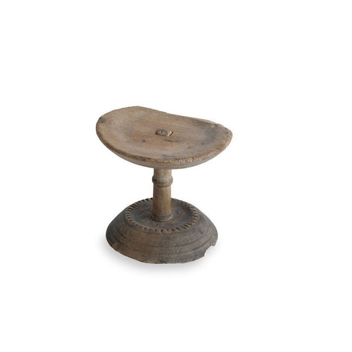 Early 18th c. Swedish wooden cheese stand