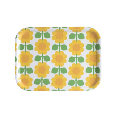 Floral Rectangular Tray Cloudberry Eleish Van Breems Home
