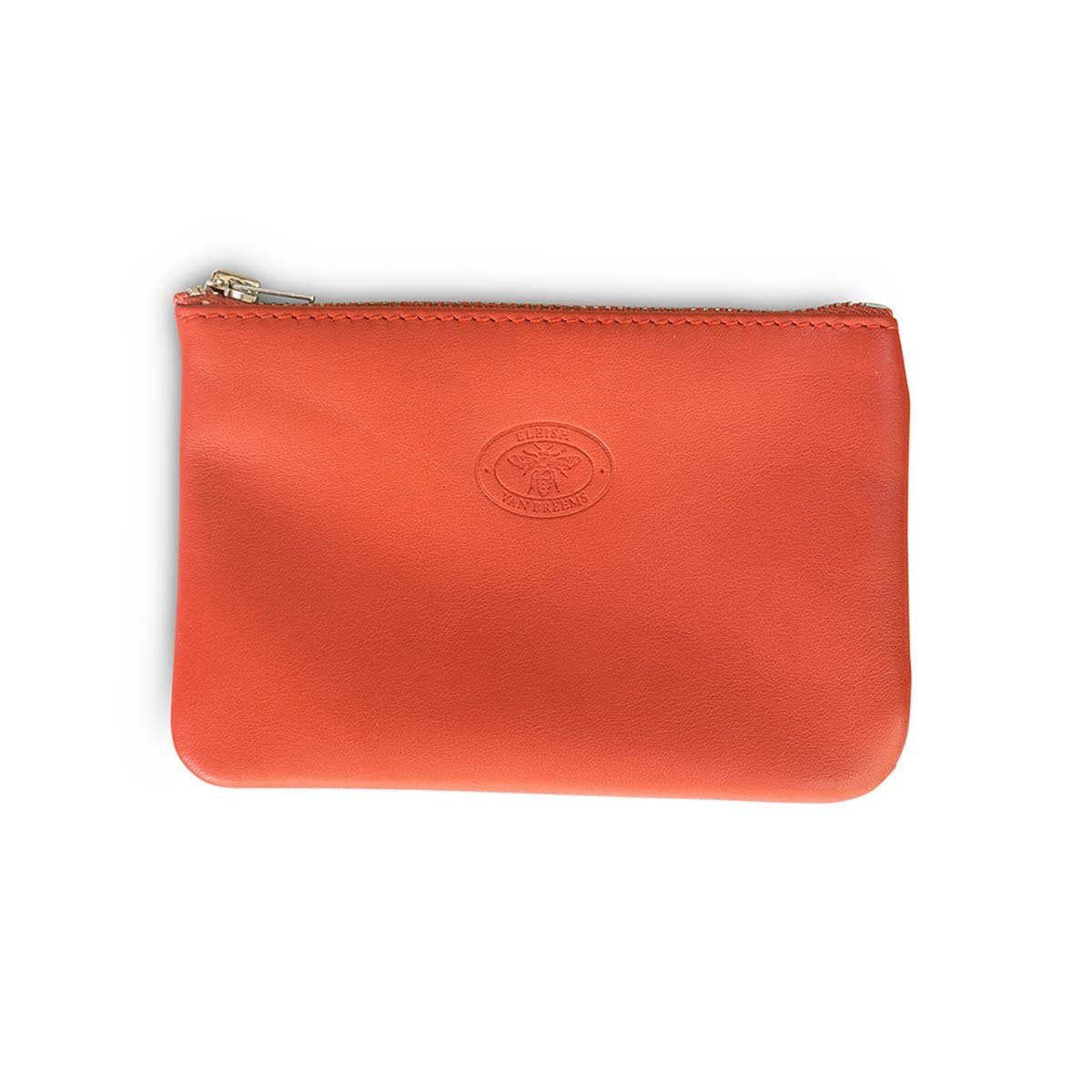 Folly Small Leather Pouch Clutch-Small-Eleish Van Breems Home