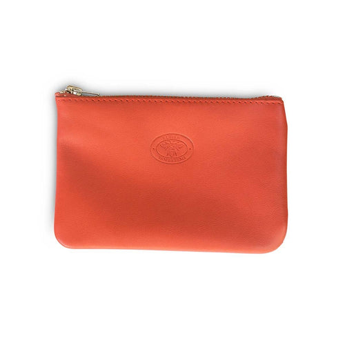 Folly Small Leather Pouch Clutch