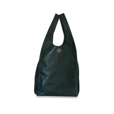 Gigi Leather Tote Bag-Charcoal-Eleish Van Breems Home