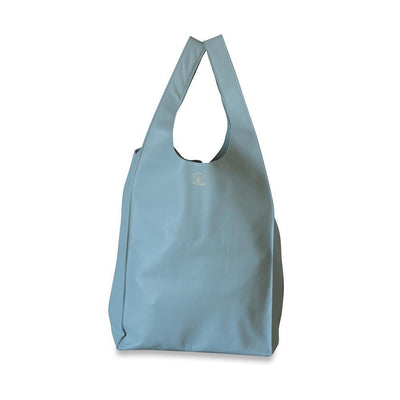 Gigi Leather Tote Bag-Grey-Eleish Van Breems Home