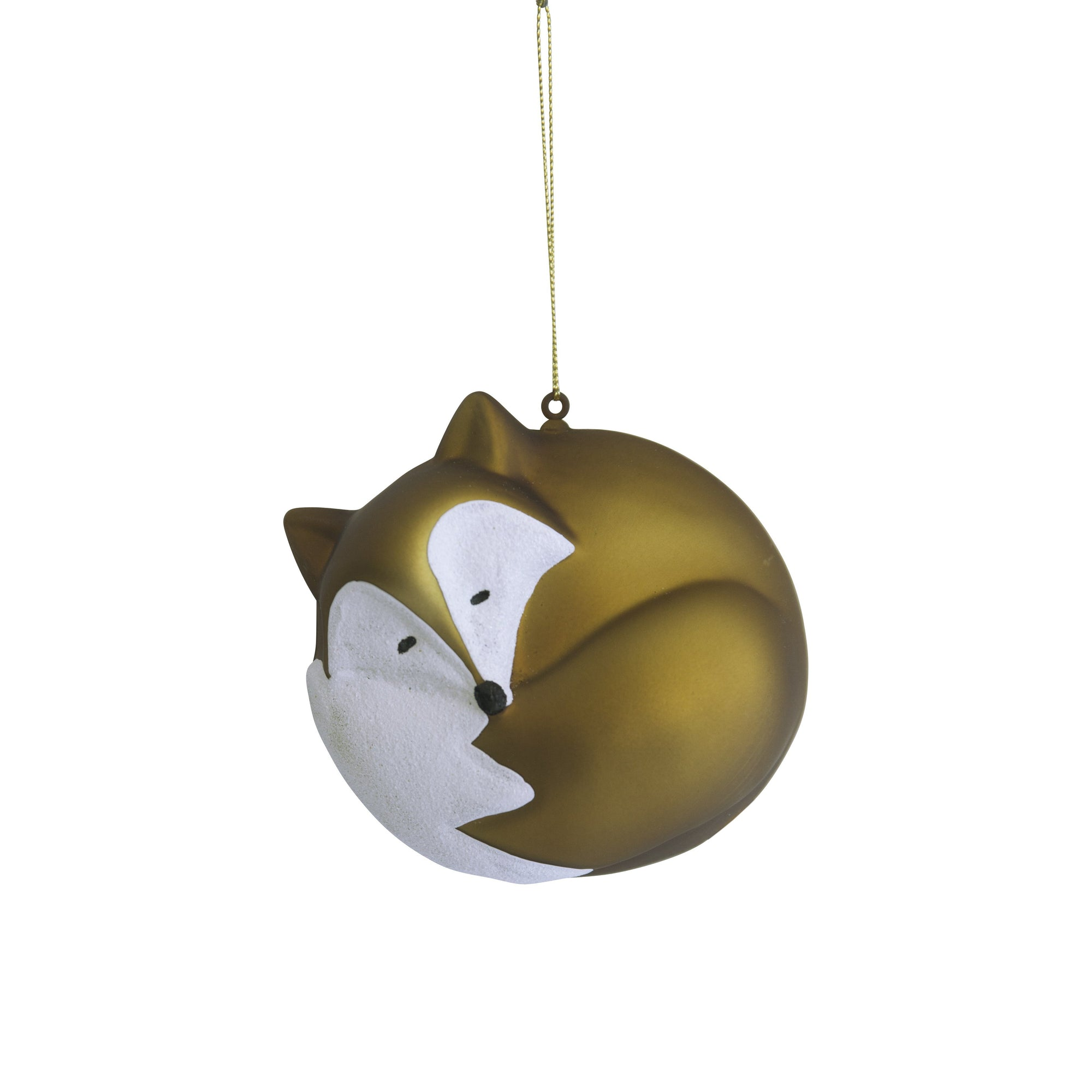 Gold Fox Ornament