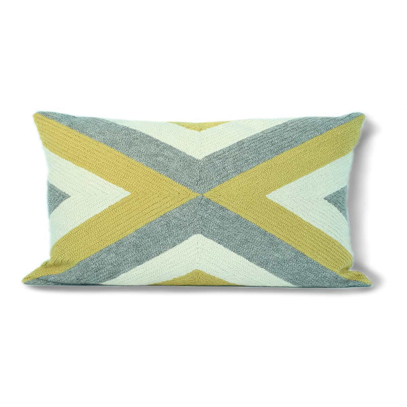 Grinda Rectangle Pillow Periwinkle/Navy Eleish Van Breems Home