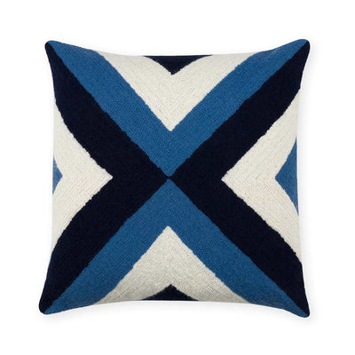 Grinda Square Pillow Periwinkle/Navy Eleish Van Breems Home