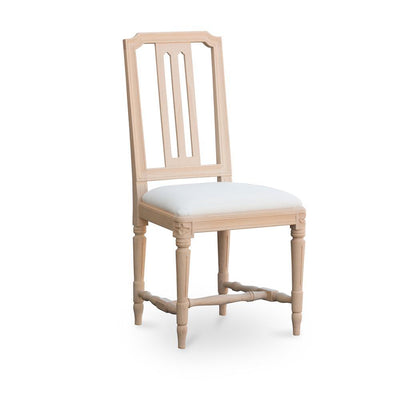 Gullers Gustavian Side Chair-Natural-Eleish Van Breems Home