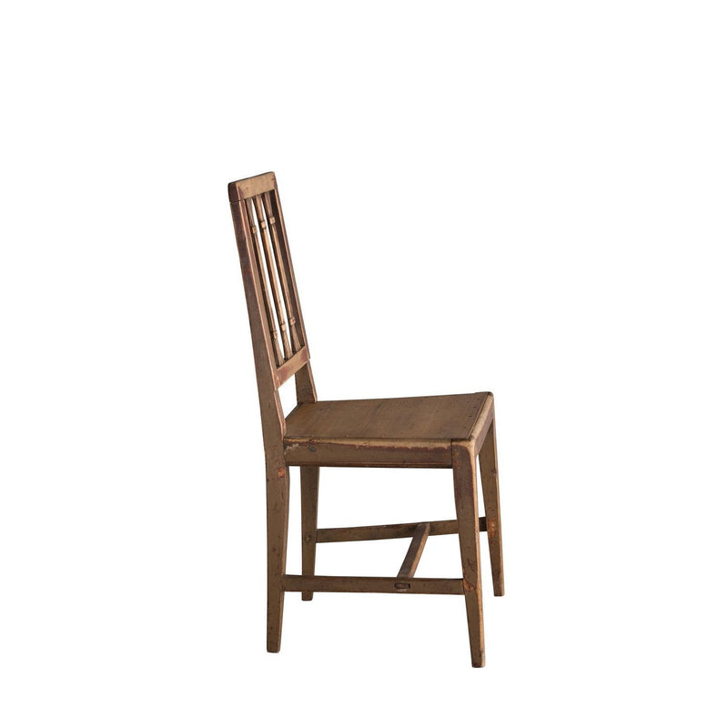 Gustavian Painted Farm Chair