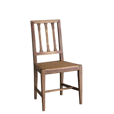 Gustavian Painted Farm Chair-Eleish Van Breems Home