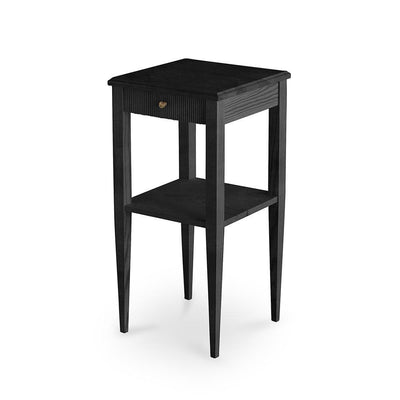 Haga Gustavian Side Table Rococo Black Eleish Van Breems Home