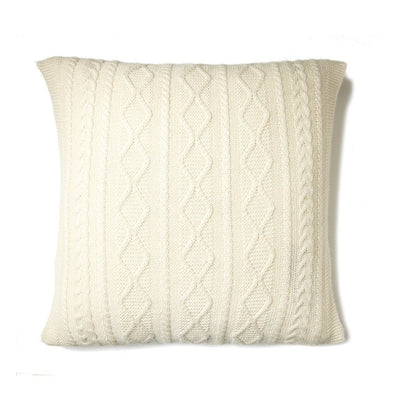 Howard Cable Square Pillow Natural Eleish Van Breems Home