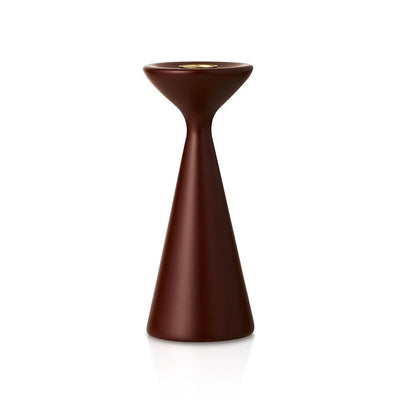 Inga Candlestick Medium Hazelnut Brown Eleish Van Breems Home