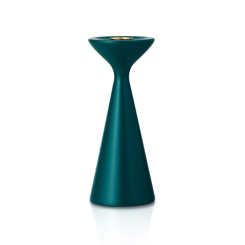 Inga Candlestick Medium Spring Green Eleish Van Breems Home