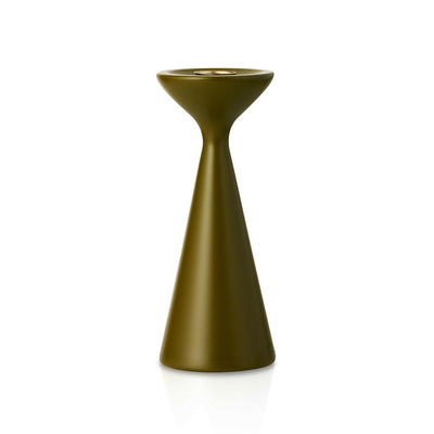Inga Candlestick Medium Soft Olive Eleish Van Breems Home