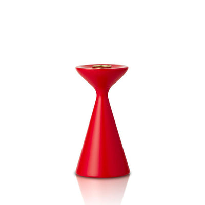 Inga Candlestick Small Red Eleish Van Breems Home