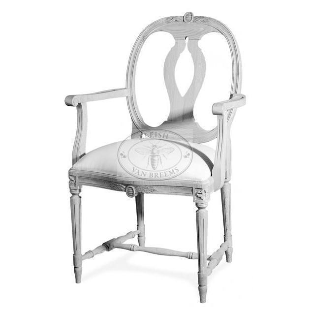 Jon Gustavian Arm Chair Eleish Van Breems Home