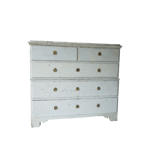L. 18th C. Swedish Gustavian Chest