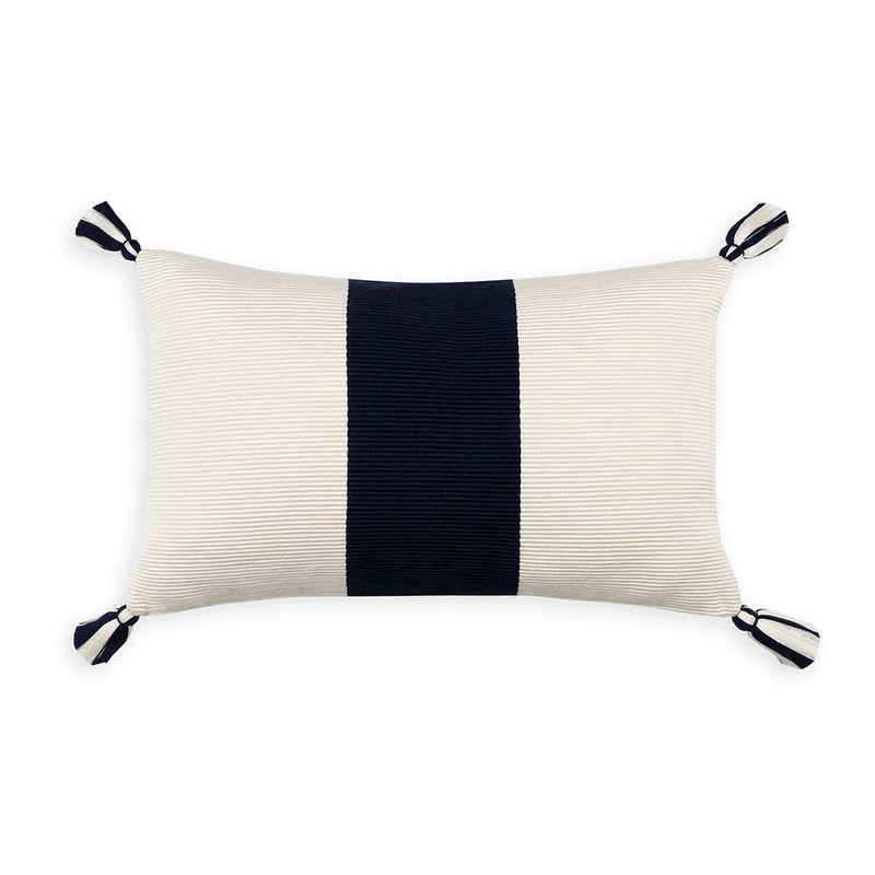 Laguna Stripe Pillow Coral Eleish Van Breems Home