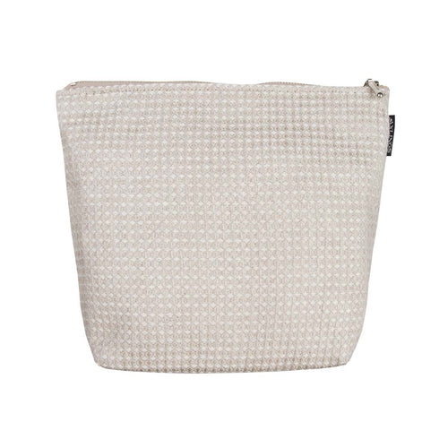 Large Linen Toiletry Bag