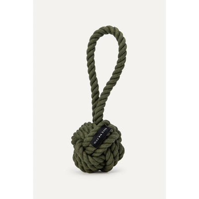 Large Rope Toy Olive Eleish Van Breems Home