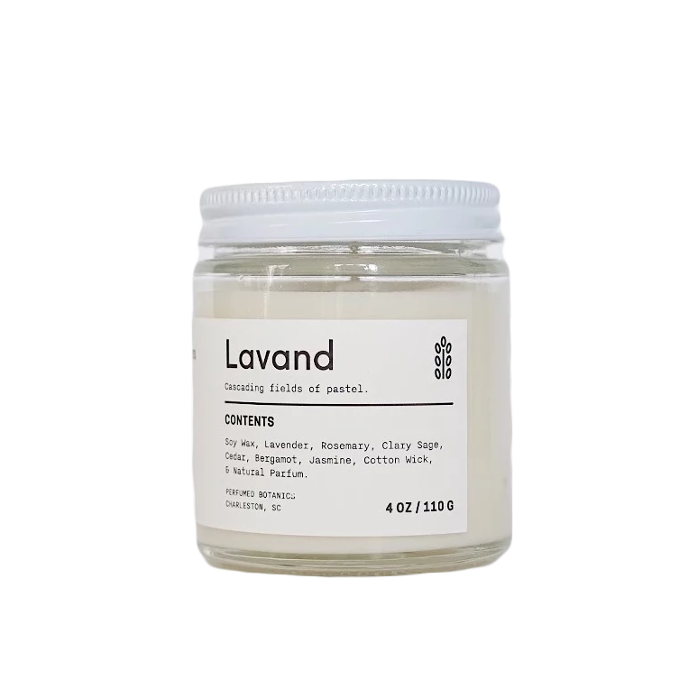 Lavand Botanical Candle 4 oz