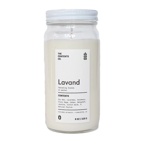 Lavand Botanical Candle 8 oz