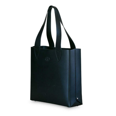 Leila Structured Tote Bag Black Eleish Van Breems Home