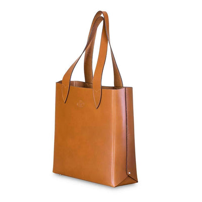 Leila Structured Tote Bag Honey Eleish Van Breems Home